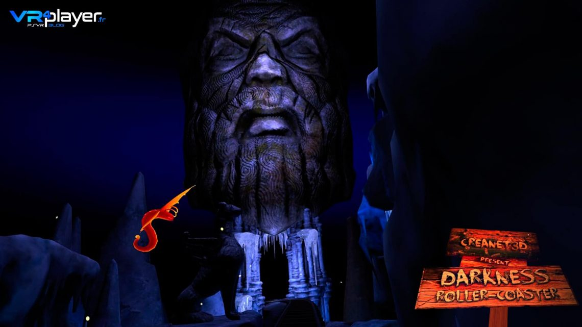 Darkness Rollercoaster PSVR PlayStation VR VR4Player