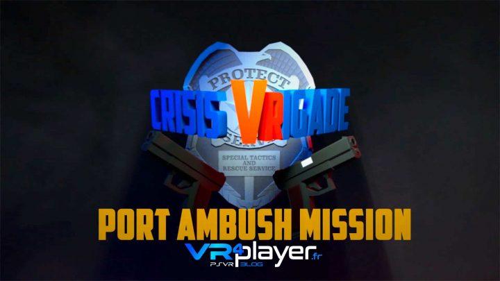 Crisis VRigade Port Ambush - VR4player