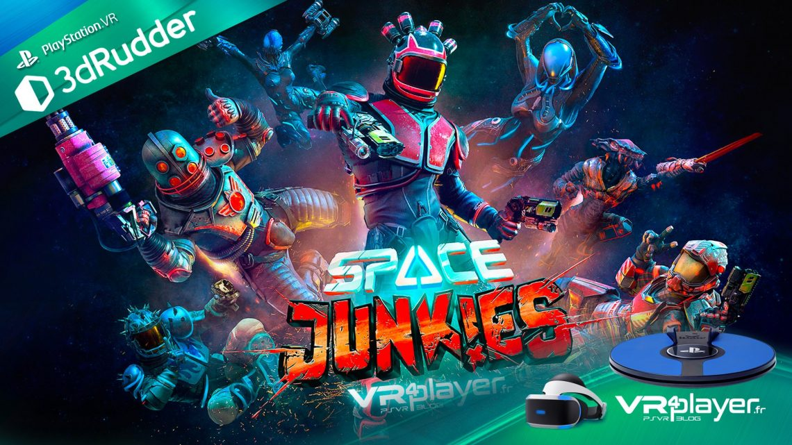 Space Junkies - 3dRudder - VR4player.fr