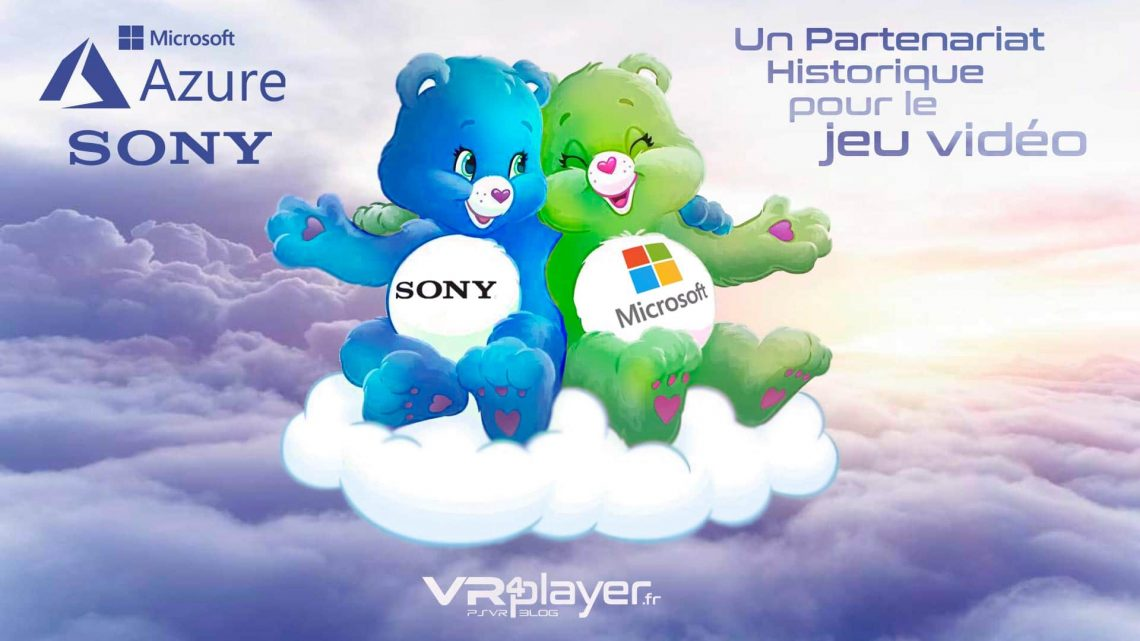 Partenariat Microsoft Sony Cloud Gaming VR4player