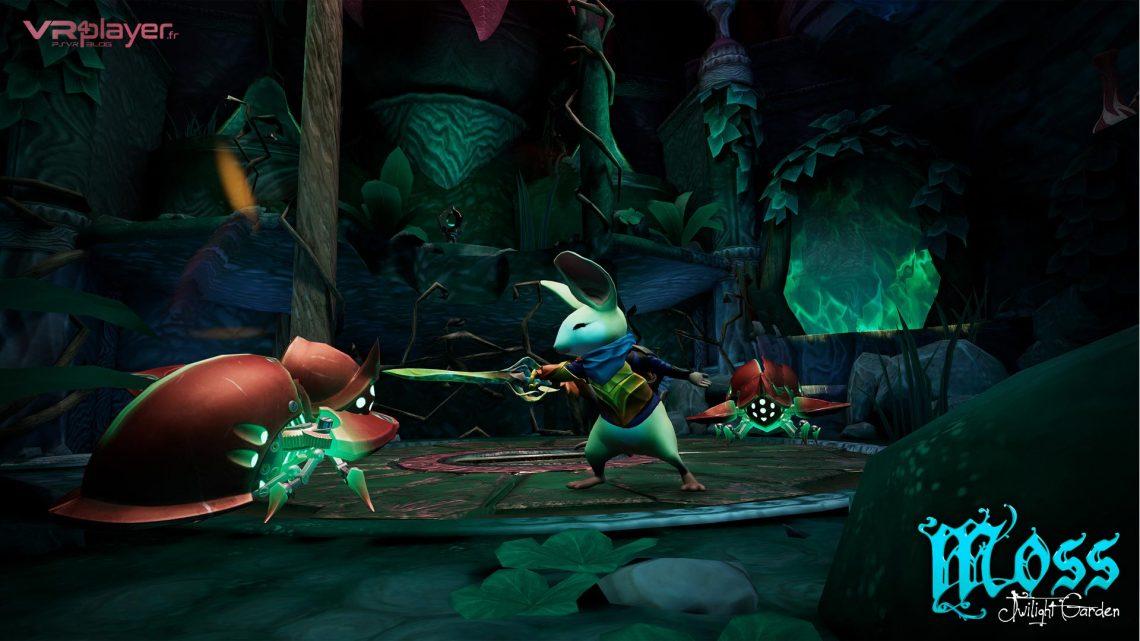 Moss Twilight Garden PlayStation VR PSVR VR4Player