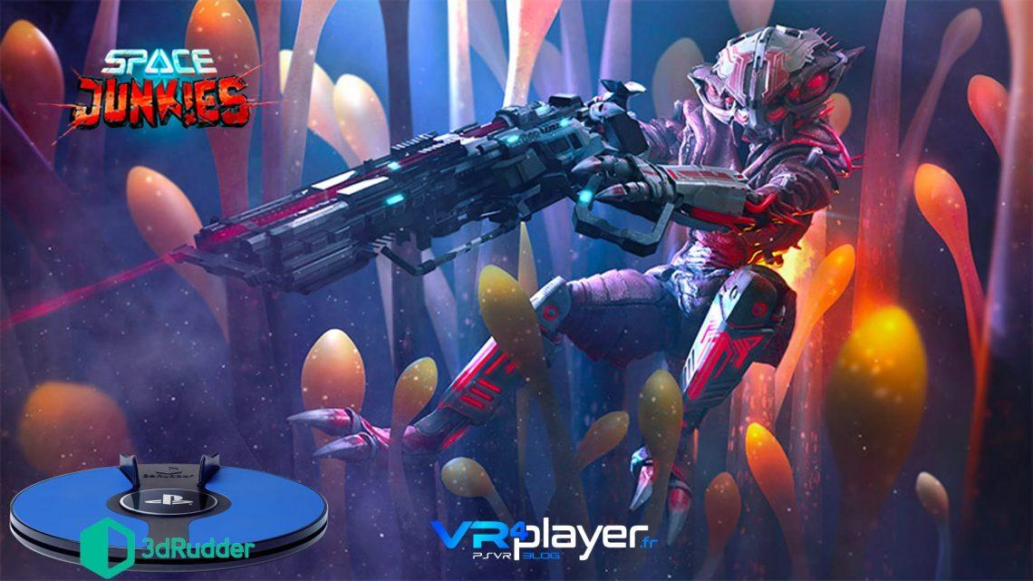 Space Junkies - 3dRudder - VR4player.frr