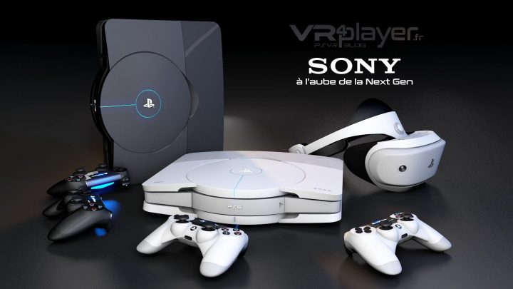 PlayStation 5 - PS5 Concept Design VR4Player