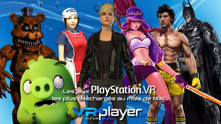 les meilleures ventes PlayStation VR de mai