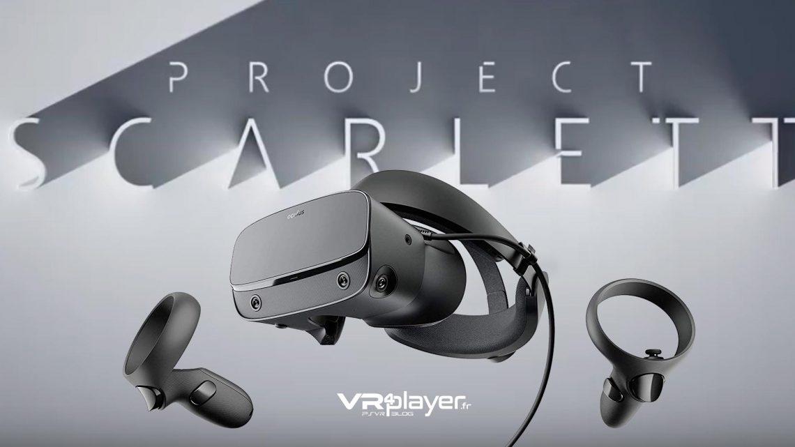 Oculus Rift S Scarlett Microsoft