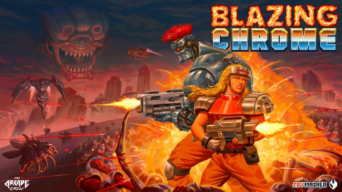 Blazing Chrome - PS4