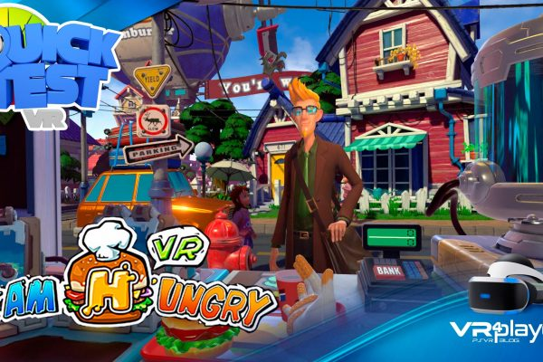 I am Hungry Quick Test VR4player PSVR PlayStation VR