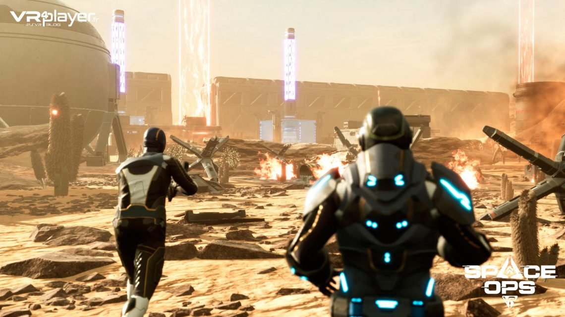 Space Ops VR PlayStation VR PSVR VR4Player