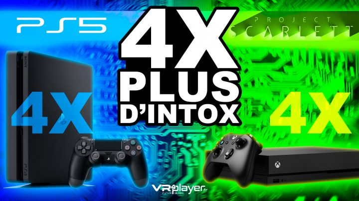 PS5, PlayStation 5, XBox Scarlett VR4player