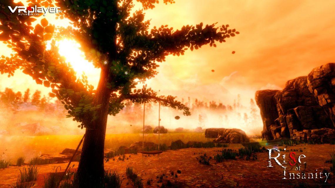 Rise of Insanity sur PSVR PLayStation VR VR4Player