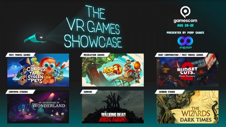 The VR Games Showcase