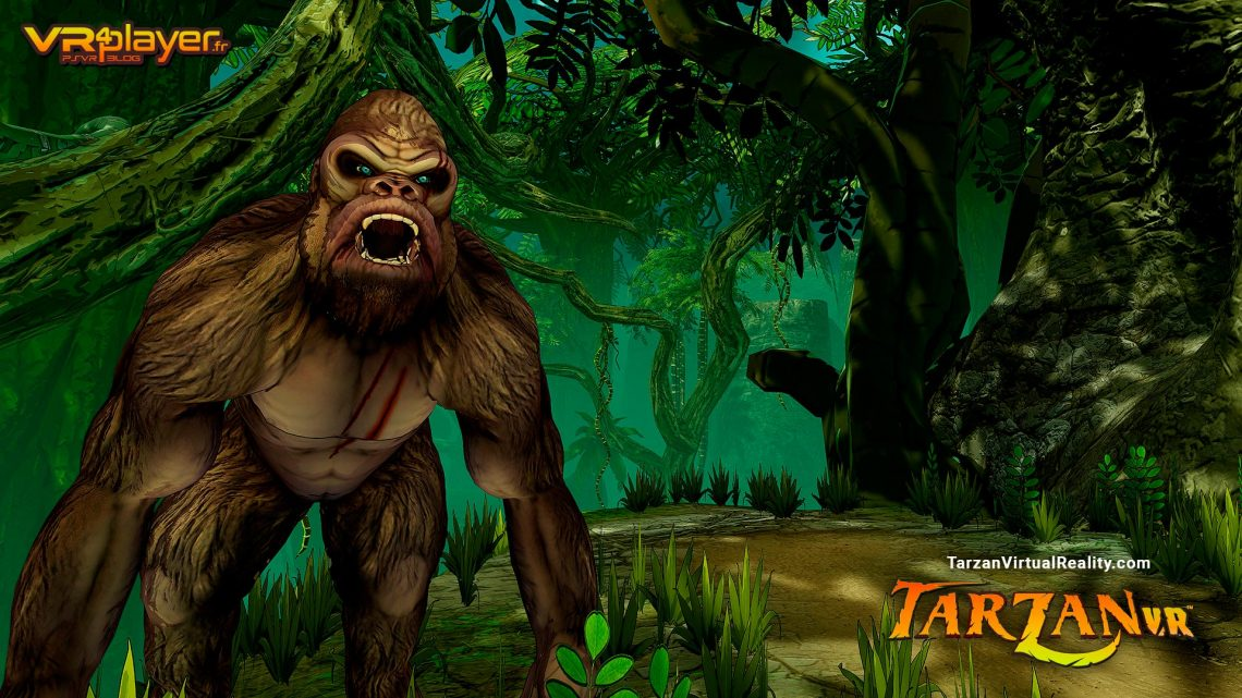 Tarzan VR PSVR PlayStation VR VR4Player