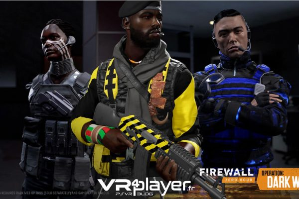 Firewall Zero Hour - PSVR - VR4player.fr