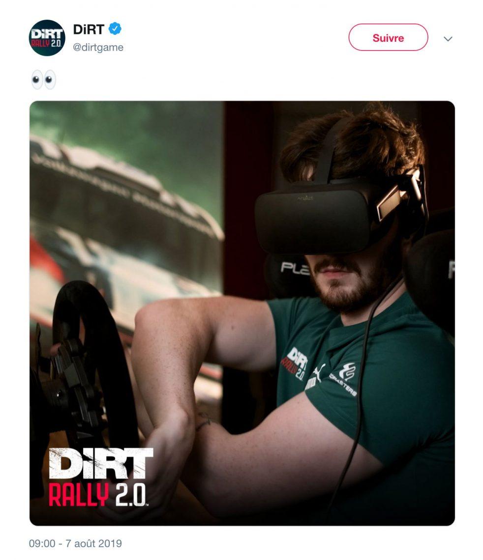 Dirt Rally 2.0 VR