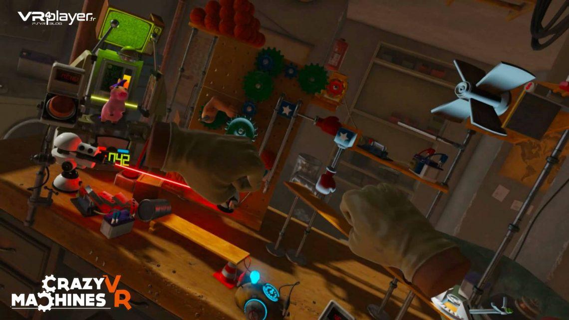 Crazy Machines VR - PSVR - VR4player.fr