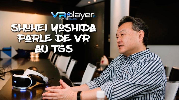 Shuhei Yoshida PSVR Iron Man VR TGS 2019 VR4Player