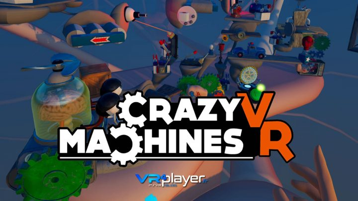 Crazy Machines VR - PSVR - VR4player.fr