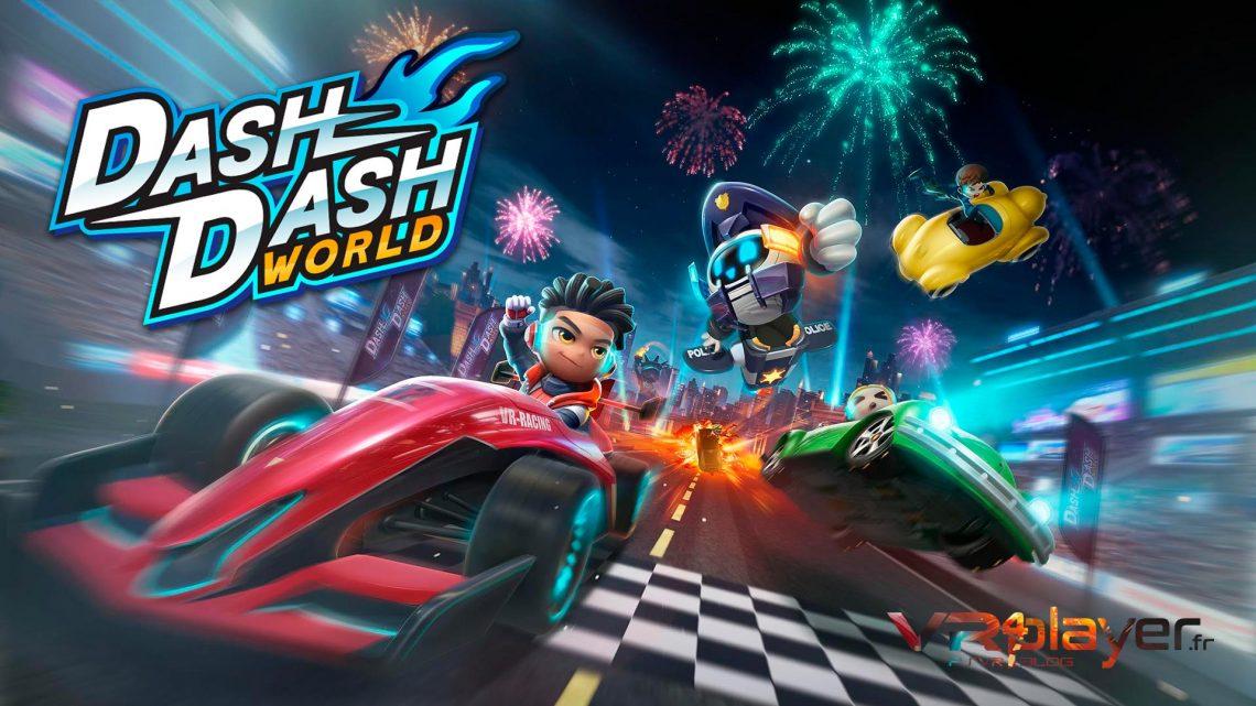 Dash Dash World PSVR PlayStation VR Kart VR4player