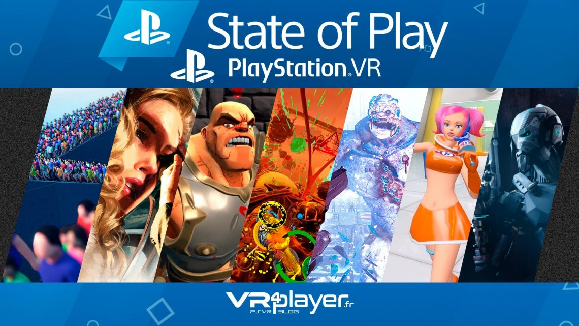 State Of Play Septembre 2019 PlayStation VR PSVR VR4Player