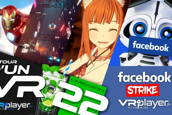 Podcast 22 Facebook strike VR4Player