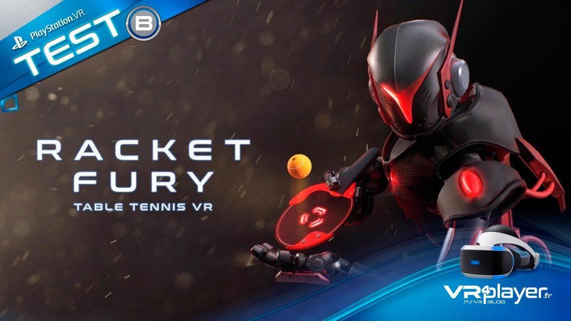 Racket Fury Test Review VR4player PSVR PlayStation VR