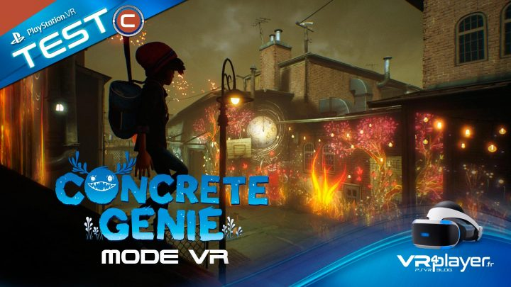 Test Review Mode VR Concrete Genie VR4Player