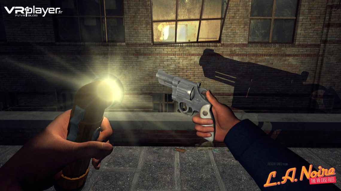 LA NOIRE Rockstar PLayStation VR PSVR TEST