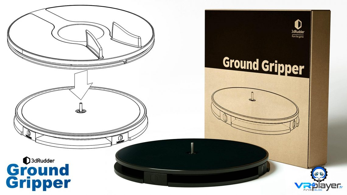 3dRudder Ground Gripper VR4player