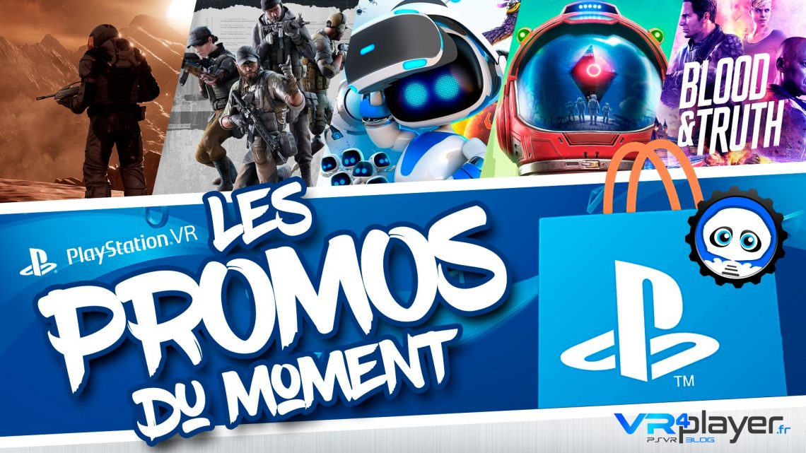 Promos PlayStation VR OCTOBRE 2019
