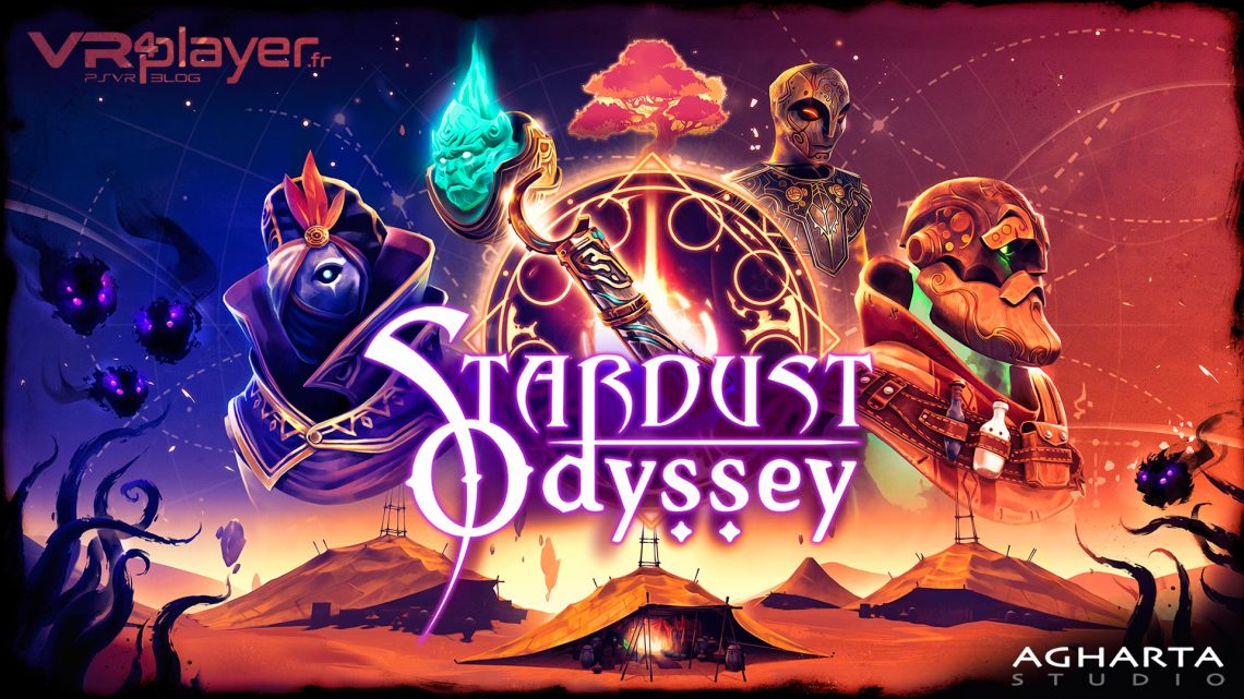 StarDust Odyssey PSVR PlayStation VR Agharta Studio VR4Player