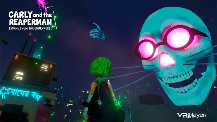 Carly and the Reaperman teasé sur PSVR vr4player.fr