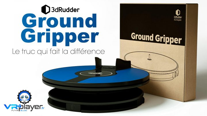 3dRudder Ground Gripper VR4player