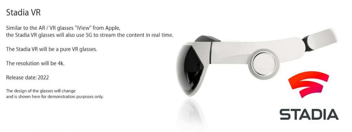 Google Stadia VR VR4Player
