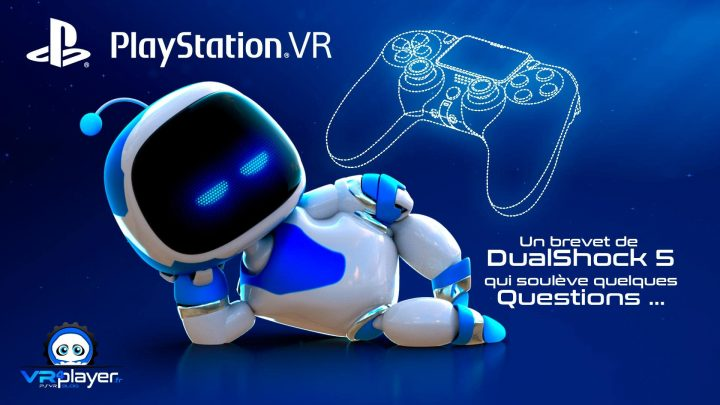 DualShock 5 Tracking Optique et PlayStation VR VR4Player