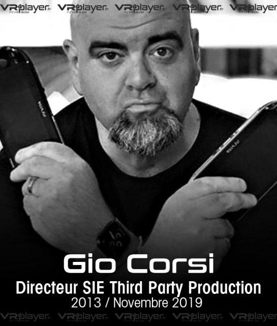Gio Corsi Sony Interactive Entertainment VR4Player