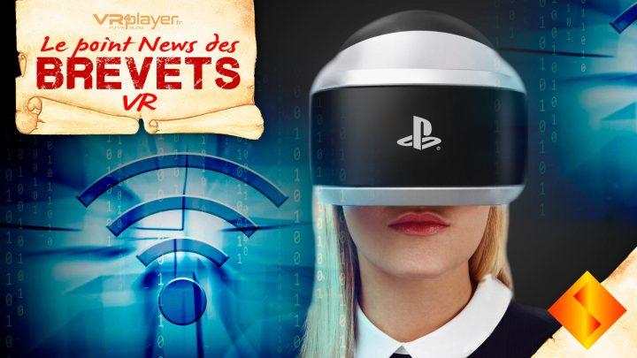 Brevet sony Spectacles VR PSVR PlayStation VR