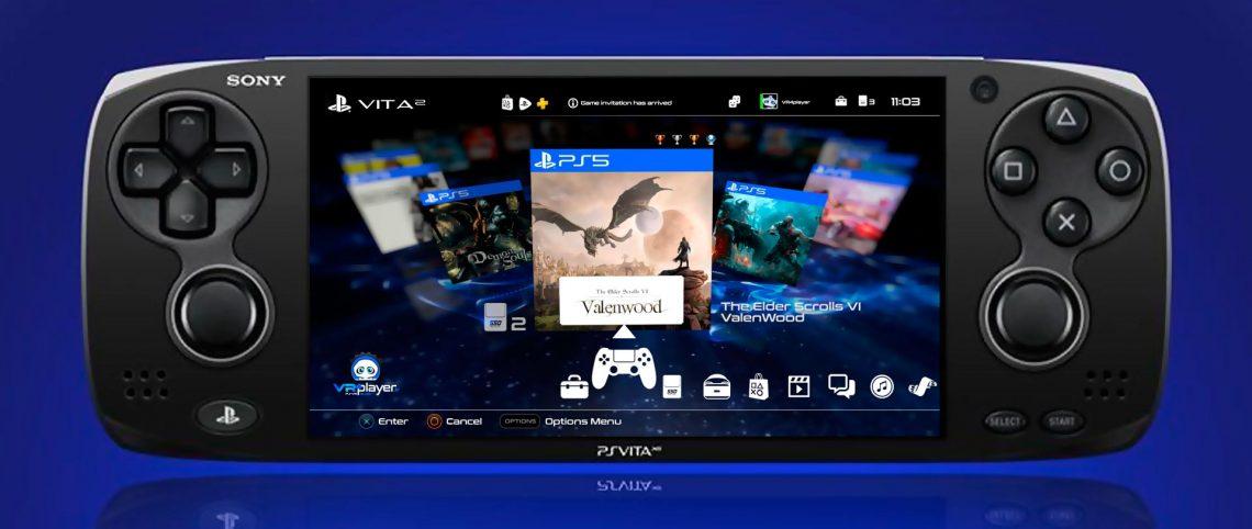 PS Vita 2 PS5 PlayStation 5 interface VR4Player