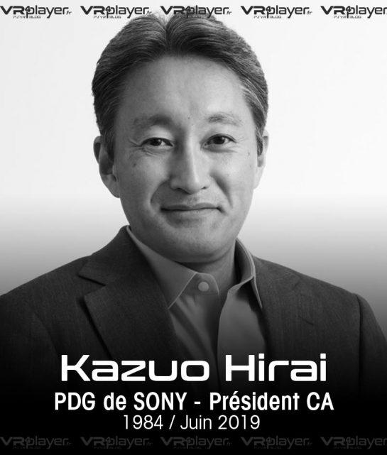 Kazuo Hirai Sony Interactive Entertainment VR4Player