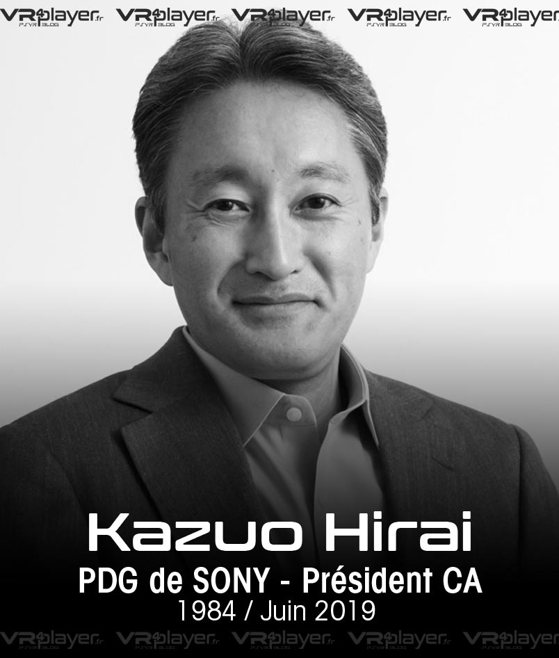 Kazuo Hirai Sony Interactive Entertainment VR4Player
