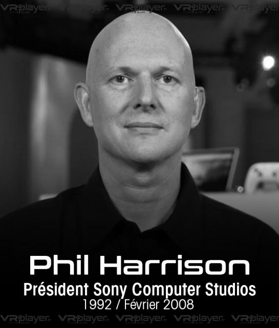 Phil Harrison Sony Interactive Entertainment VR4Player