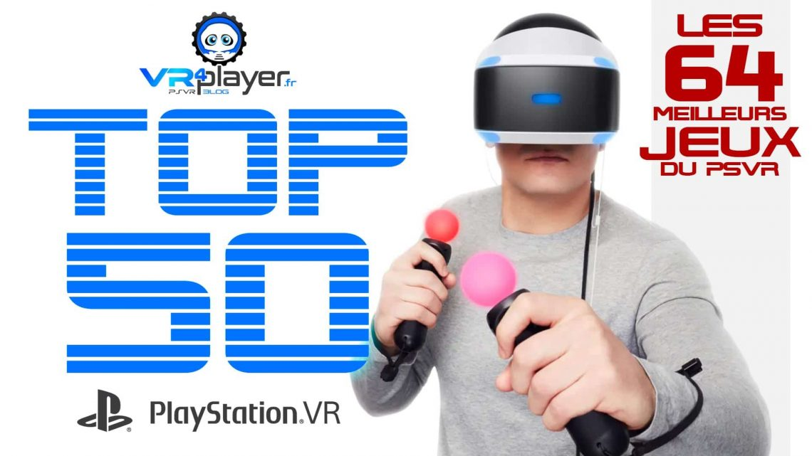 64 best games of the PlayStation VR PSVR TOP 50