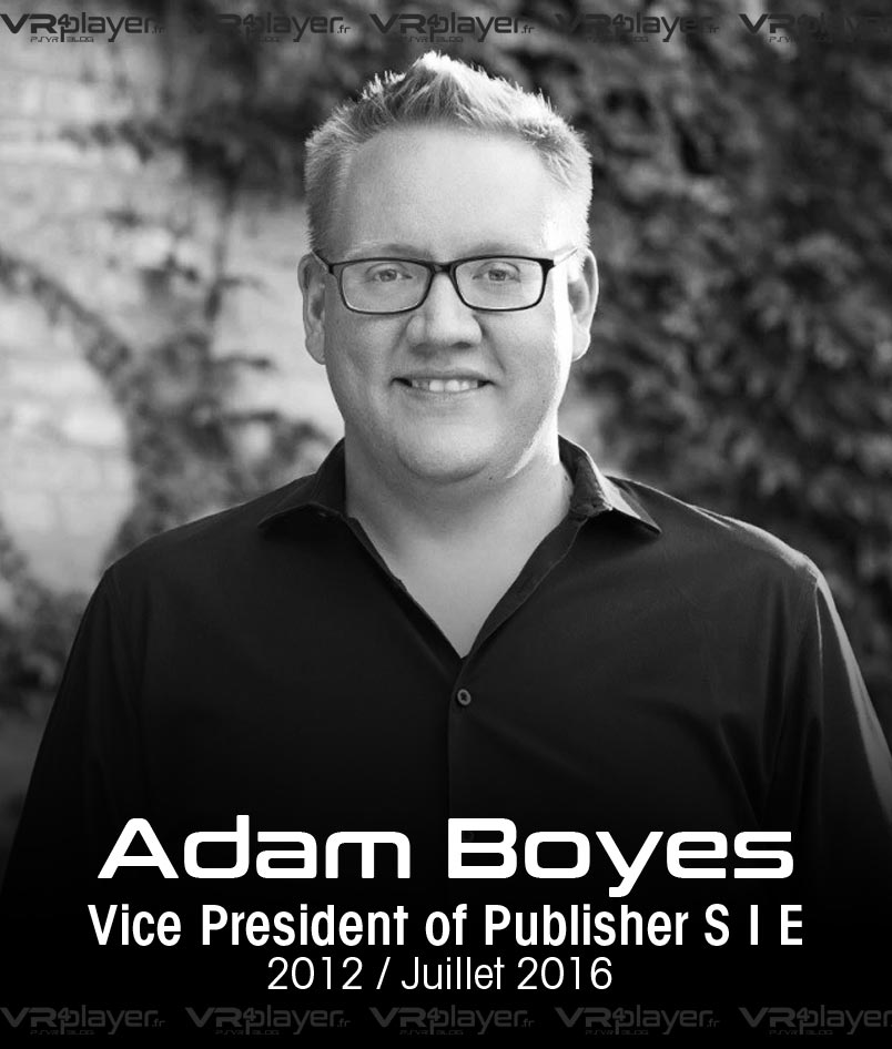 Adam Boyes Sony Interactive Entertainment VR4Player