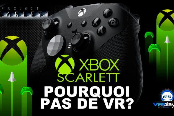 XBox Scarlett VR XCloud Streaming VR4player