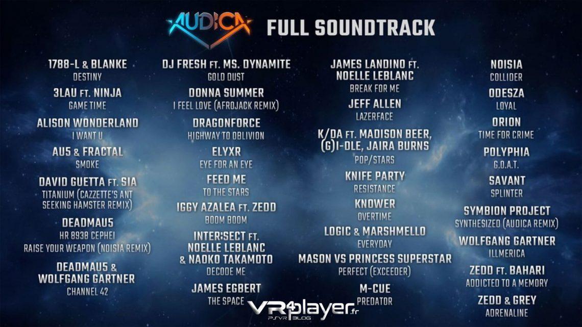 Audica Playlist