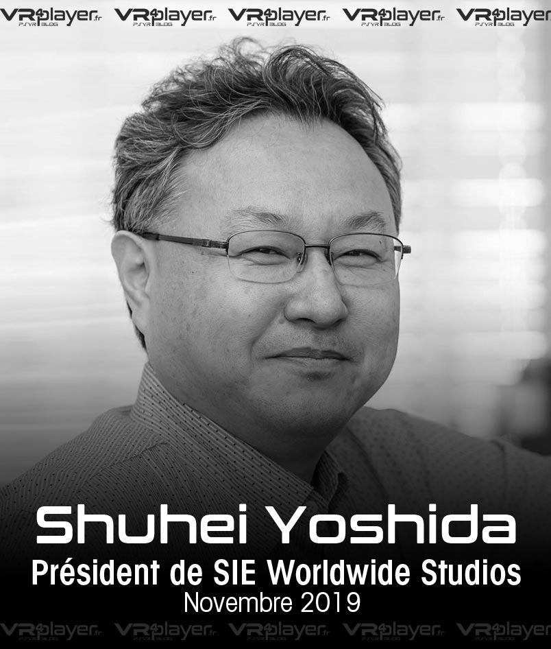 Shuhei Yoshida Sony Interactive Entertainment VR4Player