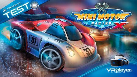 Mini Motor Racing X The Binary Mill PlayStation VR PSVR VR4Player TEST