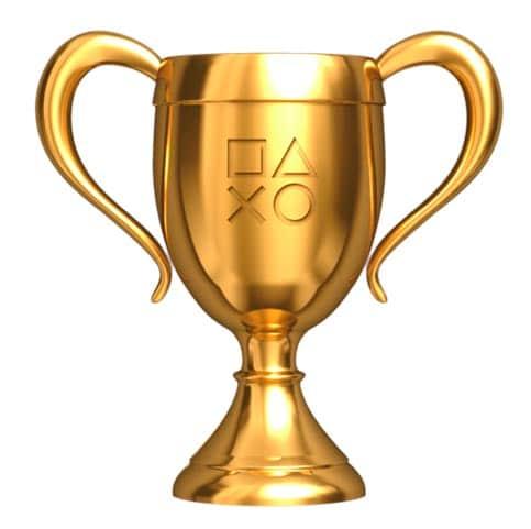 Trophée PlayStation OR
