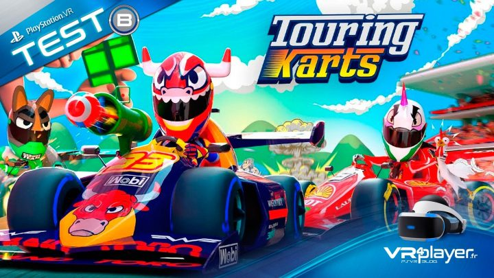 Touring Karts VR Test Review VR4Player