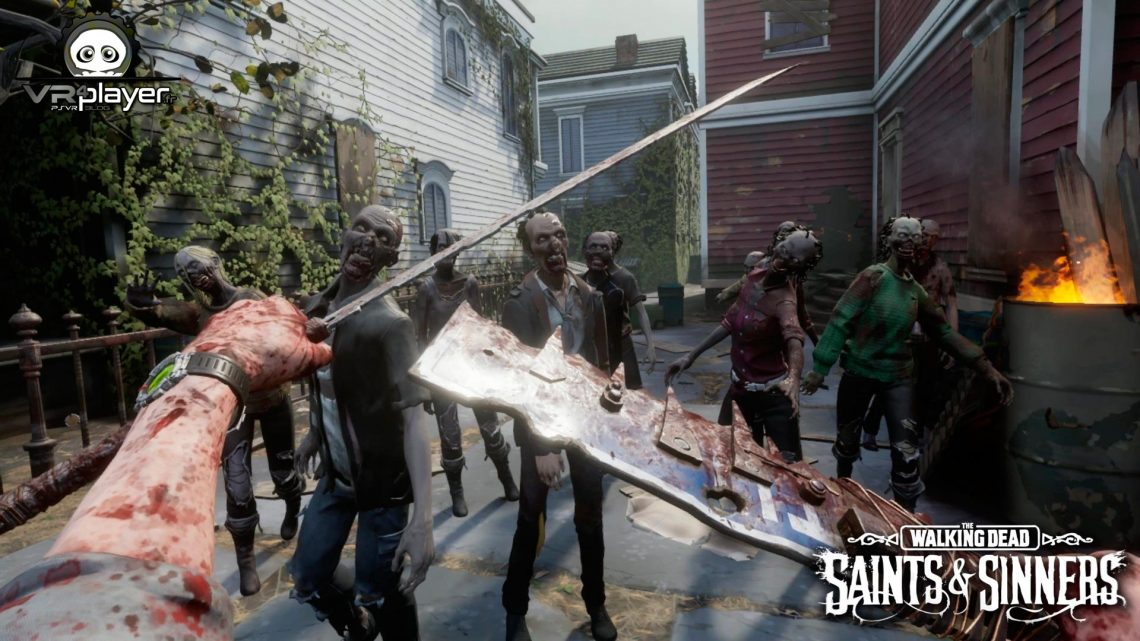 The Walking Dead Saints and Sinners PSVR PlayStation VR VR4Player