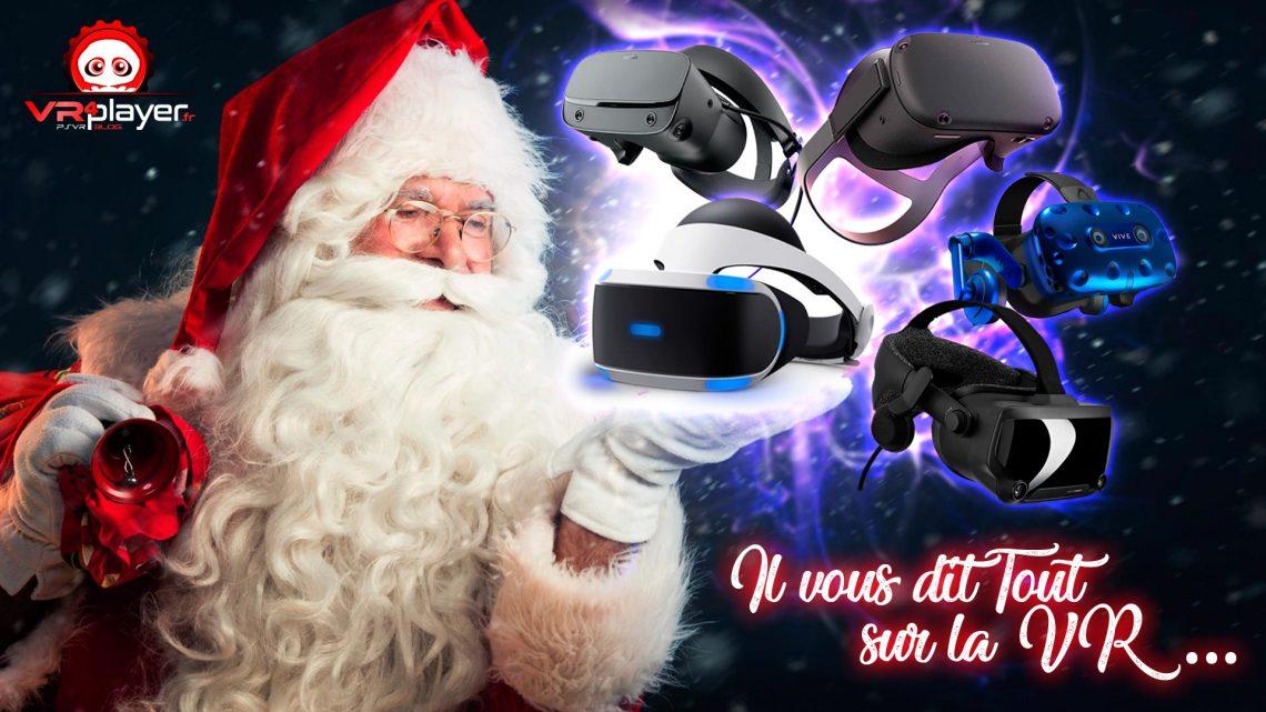 Noël Fêtes Père NoëlVR Réalité Virtuelle VR4player PSVR PlayStation VR